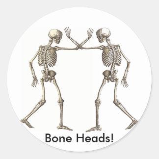 Bone Heads Skeletons Sticker