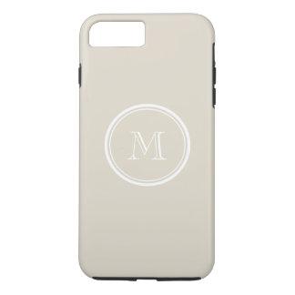 Bone High End Colored Monogram iPhone 7 Plus Case