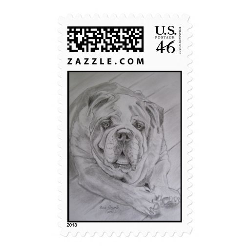 Bone Idle. Postage Stamps