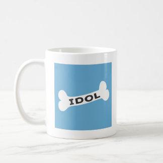 bone idol basic white mug