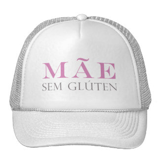 Boné Mãe sem Glúten Trucker Hats