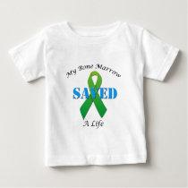 Bone Marrow Donor Gifts Baby T-Shirt