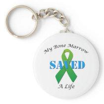 Bone Marrow Donor Gifts Keychain