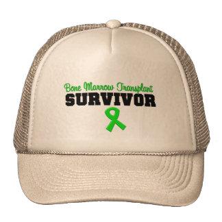 Bone Marrow Transplant Survivor Green Ribbon Trucker Hat