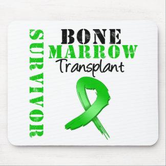 Bone Marrow Transplant Survivor Ribbon Mouse Pad