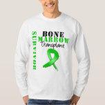 Bone Marrow Transplant Survivor Ribbon Tshirts