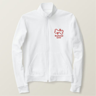 Bone-n-Paws Greyhound Lover Embroidered Jacket