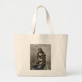Bone Necklace, Council Chief 1899 Tote Bags