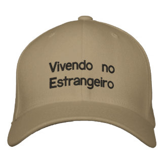 boné para estrangeiros embroidered baseball cap