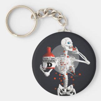 Bone Pills Key Chain