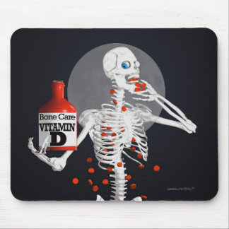 Bone Pills Mouse Pad