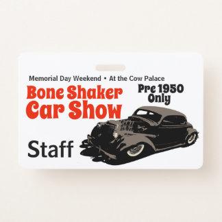 Bone Shaker Staff Badge
