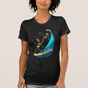 Beach Themed BoNe SuRfiNg T-Shirt