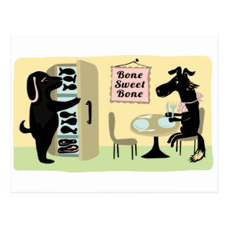 Bone Sweet Bone Postcard