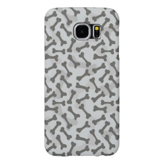 Bone Texture Pattern Greyscale Samsung Galaxy S6 Cases