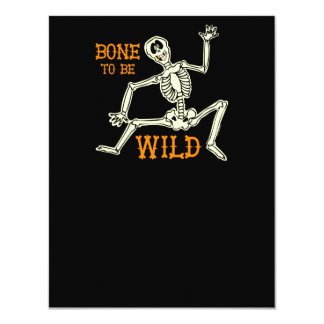 Bone To Be Wild Personalized Announcement