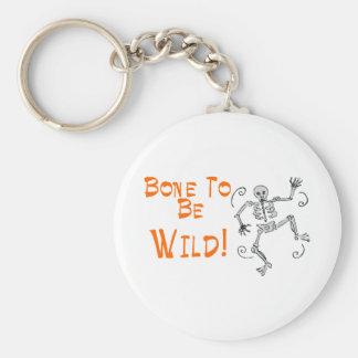 Bone To Be Wild Keychain