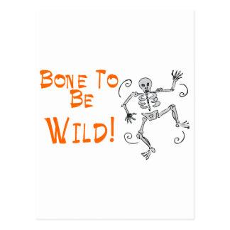 Bone To Be Wild Postcard