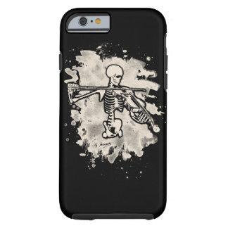 Bone violonist - bleached cream white tough iPhone 6 case