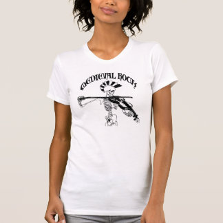 Bone violonist/Skeleton Fiddler - Medieval skirt T-Shirt