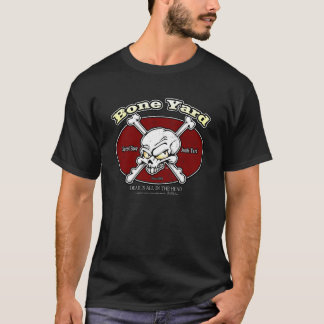 Bone Yard 005 (Red Oval Vintage) Non Crew T-Shirt