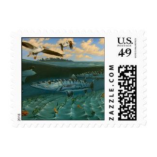 Bonefish, Florida Bay Stamp