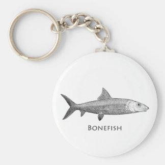 Bonefish Logo Keychain