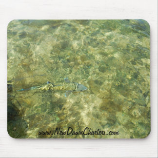 Bonefish release mouse pad