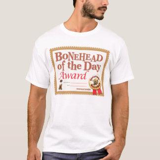 Bonehead Award T-Shirt