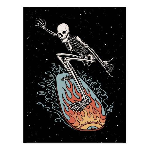 Bonehead Board Dude Postcards