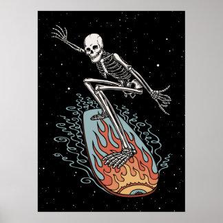 Bonehead Board Dude Poster