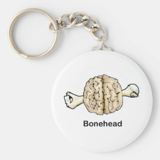 Bonehead Keychain