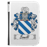 Bonelli Family Crest Kindle 3 Covers
