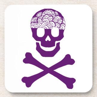 Bones and Brains Beverage Coaster