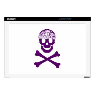 Bones and Brains Decal For Laptop