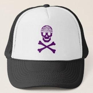 Bones and Brains Trucker Hat