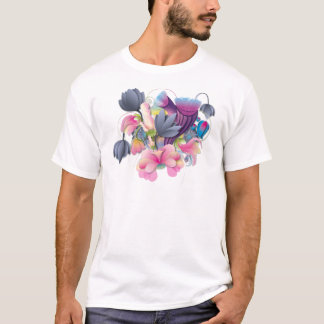 BONES AND FLOWERS T-Shirt