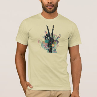 BONES AND FLOWERS VICTORY T-Shirt