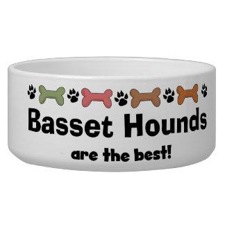 Bones and Pawprints Customized Dog Breeds Dog Dish