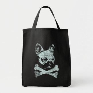 Bones Grocery Tote Bag