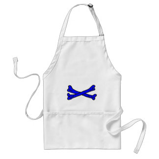 Bones Blue The MUSEUM Zazzle Gifts Aprons