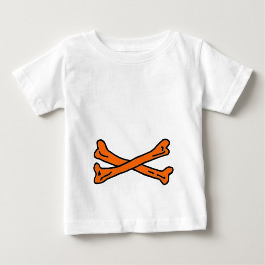 Bones Brown The MUSEUM Zazzle Gifts Baby T-Shirt