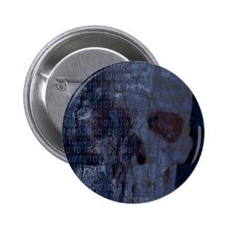 bones 2 inch round button