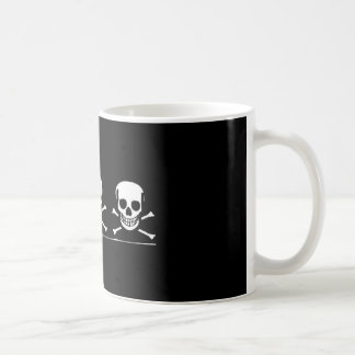 bones classic white coffee mug