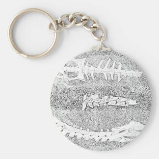 Bones Coloring Project DIY Adult Coloring Keychain