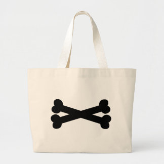 Bones crossed bag