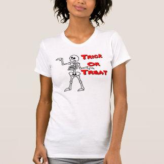 Bones Egyptian (Trick Or Treat) Baby Doll T-Shirt