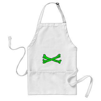 Bones Green The MUSEUM Zazzle Gifts Adult Apron