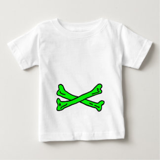 Bones Green The MUSEUM Zazzle Gifts Baby T-Shirt