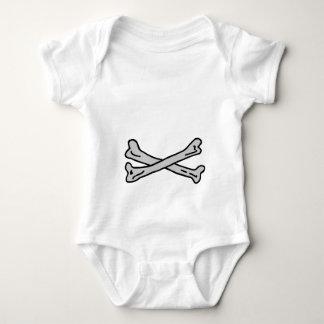 Bones Grey The MUSEUM Zazzle Gifts Baby Bodysuit